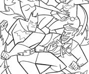 Coloring pages Batgirl of the Film