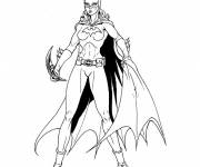 Coloring pages Batgirl