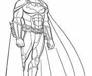 Free coloring and drawings Batman equipped Coloring page