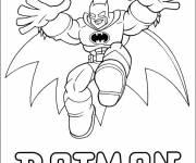 Free coloring and drawings Batman for kids Coloring page