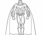 Free coloring and drawings Batman Online Coloring page