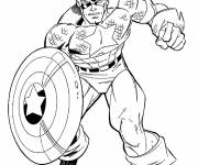 Coloring pages Captain america coloring