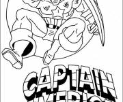 Coloring pages Captain America for Download