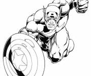 Coloring pages Captain America Online