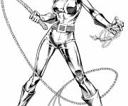 Coloring pages Color catwoman