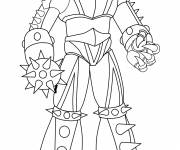 Coloring pages Goldorak Zuril