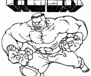 Coloring pages Color hulk