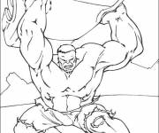 Coloring pages Hulk the Almighty