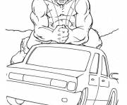 Coloring pages Hulk wrecker