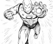 Coloring pages Iron man online