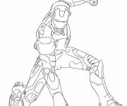 Coloring pages Maternal iron man