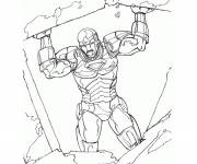 Coloring pages The Iron Man hero
