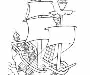 Free coloring and drawings Jack and the Pirates Color  Coloring page