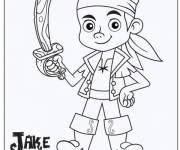 Coloring pages Jack and the Pirates coloring