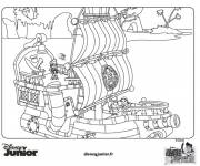 Coloring pages Jack and the Pirates Disney Junior