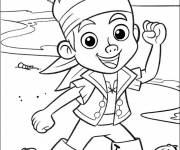 Free coloring and drawings Jake and the Pirates of the Imaginary Land Coloring page