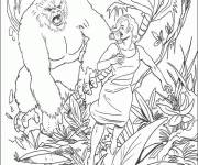 Coloring pages King kong online