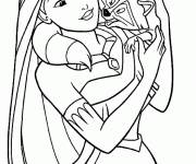 Coloring pages Color Movie Heroes