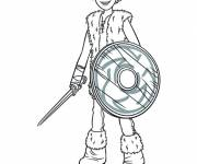 Coloring pages Harold Movie Heroes
