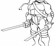 Coloring pages Ninja Turtle