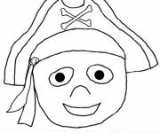 Coloring pages Boy Pirate