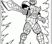 Coloring pages Maternal Power Rangers