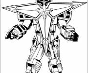 Coloring pages Power Rangers Dino Super Charge