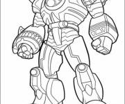 Coloring pages Power Rangers jungle fury