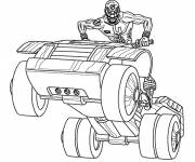 Coloring pages Power Rangers Series