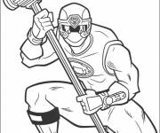 Coloring pages Power Rangers superheroes