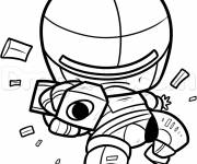 Coloring pages Robocop easy