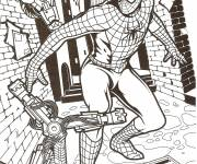 Free coloring and drawings Spiderman The Movie Coloring page