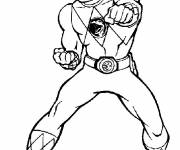Free coloring and drawings Power Rangers Magic Hero Coloring page