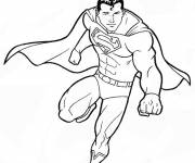 Coloring pages Superman for kids