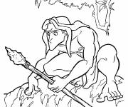 Coloring pages Tarzan color