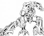 Coloring pages A Robot Transformers