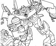 Coloring pages Cartoon transformers