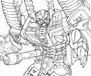 Coloring pages Cutting transformers