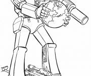 Coloring pages Earth Protective Transformers