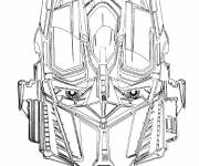 Coloring pages Robot Transformers Bumblebee