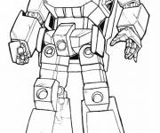 Coloring pages Transformers Bumblebee