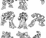 Coloring pages Transformers Characters