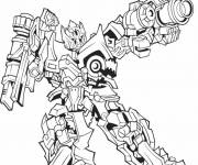 Coloring pages Transformers Crosshairs