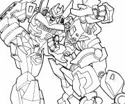 Coloring pages Transformers Fighters
