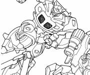 Coloring pages Transformers Frenzy