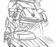 Coloring pages Transformers of Planet Cybertron
