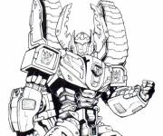 Coloring pages Transformers Starscream