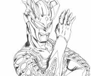 Coloring pages Ultraman Monster