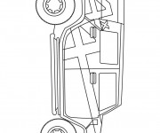 Free coloring and drawings 4 X 4 Hummer Coloring page