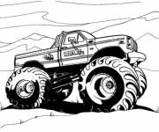 Free coloring and drawings 4 X 4 in black and white Coloring page